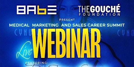 Medical, Marketing, And Sales [Career Summit] bilhetes