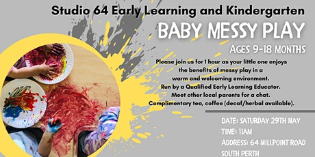 Messy Play - Saturday 29 May 2021 tickets