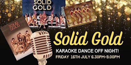 Solid Gold Karaoke Dance Off Night tickets