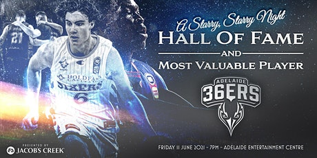 2021 Adelaide 36ers Hall of Fame  and MVP Awards Dinner tickets
