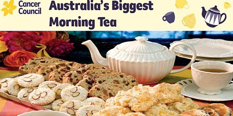 B-Hub's Biggest Morning Tea to raise money for Cancer Council. tickets