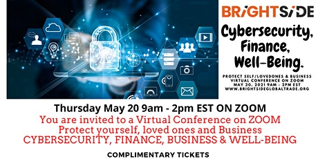 Cybersecurity, Finance, Insurance, Business and Well-Being tickets