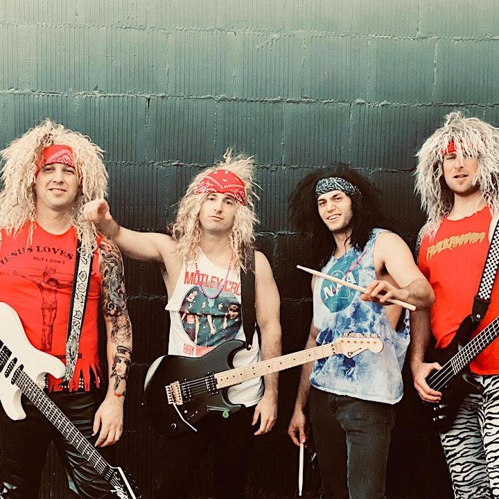 SKID MARK - 80's Hair Metal Tribute Band image