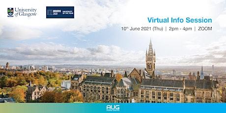 University of Glasgow Virtual Info Session tickets