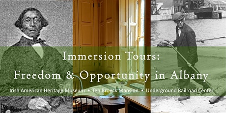 Immersion Tours: Freedom & Opportunity in Albany tickets