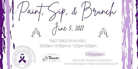 Paint, Sip & Brunch tickets