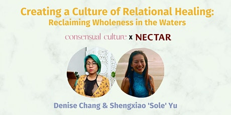 Creating a Culture of Relational Healing: Reclaiming Wholeness in the Water tickets