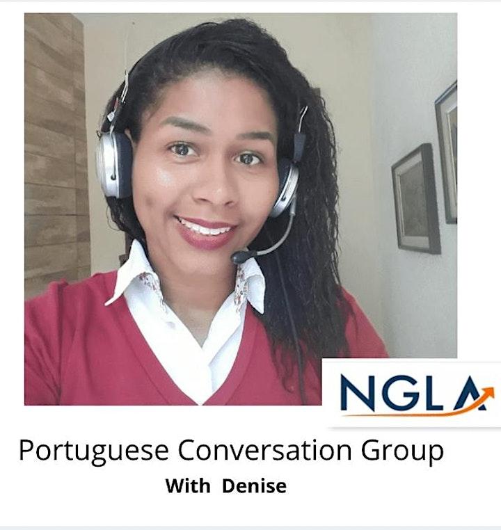Portuguese Conversation Group image