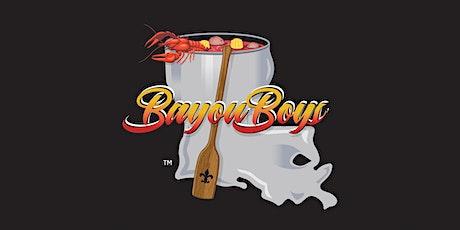 Bayou Boys Crawfish Boil tickets