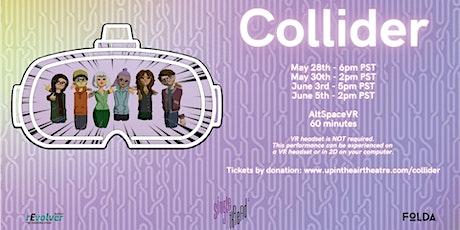 Collider presented by FOLDA Festival of Live Digital Art& rEvolver Festival tickets