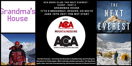 ACA BOOK CLUB: The Next Everest - Part II tickets