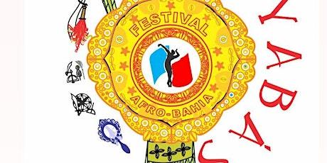 Festival Afro Bahia 2021 As Yabas tickets