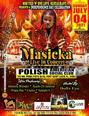 MASICKA LIVE IN CONCERT tickets