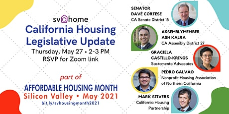 California Housing Legislative Update tickets