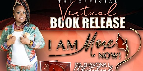 I Am More Now Book Release tickets