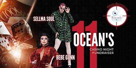 Ocean's 11 Casino Night tickets