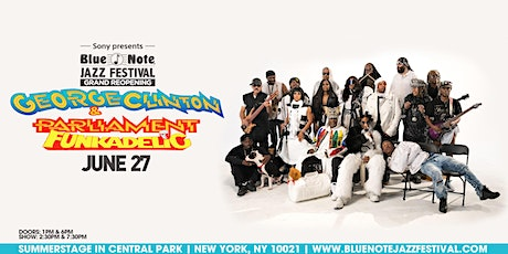 George Clinton & Parliament Funkadelic - 7:30pm Show tickets