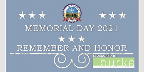 Memorial Day 2021 tickets