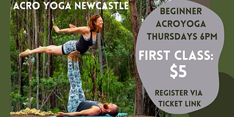 THURSDAY ACROYOGA CLASS tickets