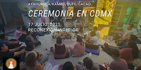 Ceremonia en CDMX con Ayahuasca/Kambó/Bufo/Cacao boletos