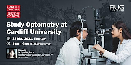 Optometry with Cardiff University tickets