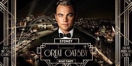 Great Gatsby Boat Party - Sydney (Fri May 28) tickets