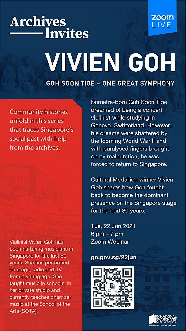 Archives Invites: Vivien Goh | Goh Soon Tioe – One Great Symphony image