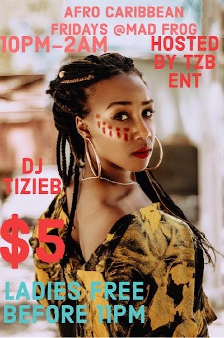 Afro Caribbean Fridays image