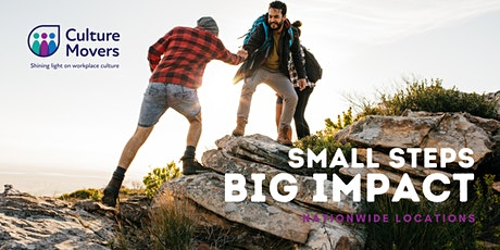 Small Steps, Big Impact - Leadership Development For All (WGTN) tickets