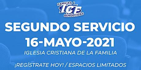 Servicio ICF - 16 de mayo de 2021 - Segundo Servicio - 11AM entradas
