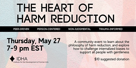 The Heart of Harm Reduction tickets