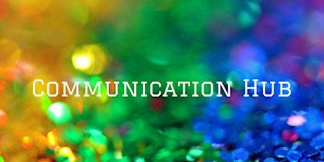 Communication hub taster session tickets
