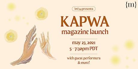 {m}aganda magazine's Issue 34: Kapwa Magazine Launch tickets