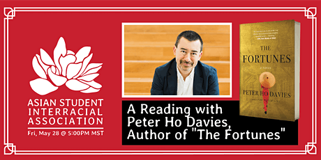 """A Reading with Peter Ho Davies, Author of """"The Fortunes"""" tickets"""