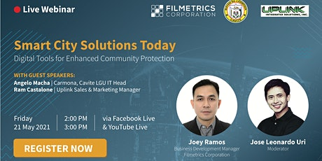 SmartCity Solutions Today | Digital Tools for Enhanced Community Protection tickets