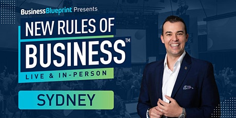 New Rules of Business in Sydney tickets