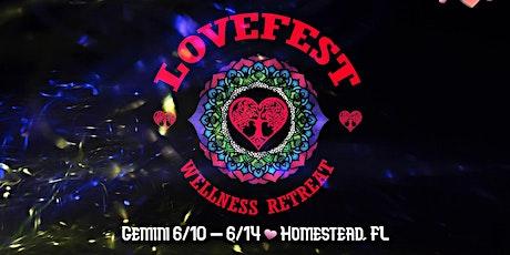 Lovefest Wellness Retreat tickets