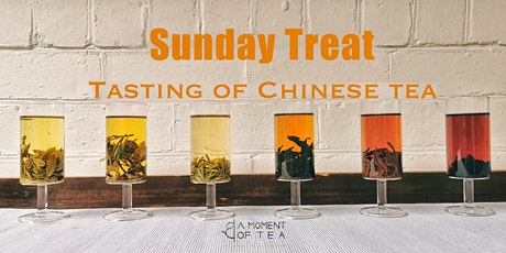 Sunday Treat- A Moment of Tasting tickets