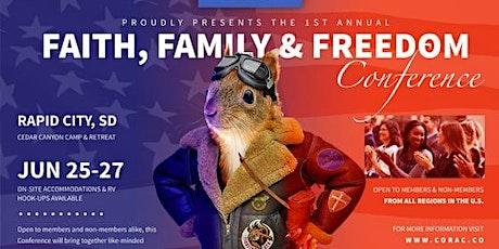 Faith, Family & Freedom Conference tickets