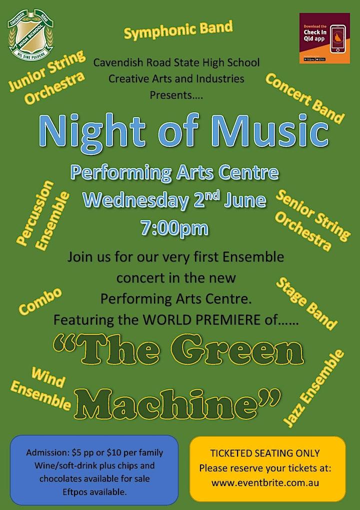 Cavendish Road State High School Night of Music image