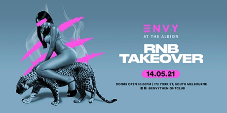 ENVY| RNB TAKEOVER |14TH MAY 21 tickets