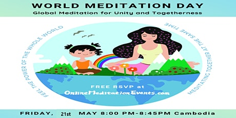 Celebrate World Meditation Day with a FREE online meditation retreat tickets