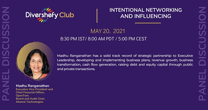 Panel Discussion - Intentional Networking and Influencing. image