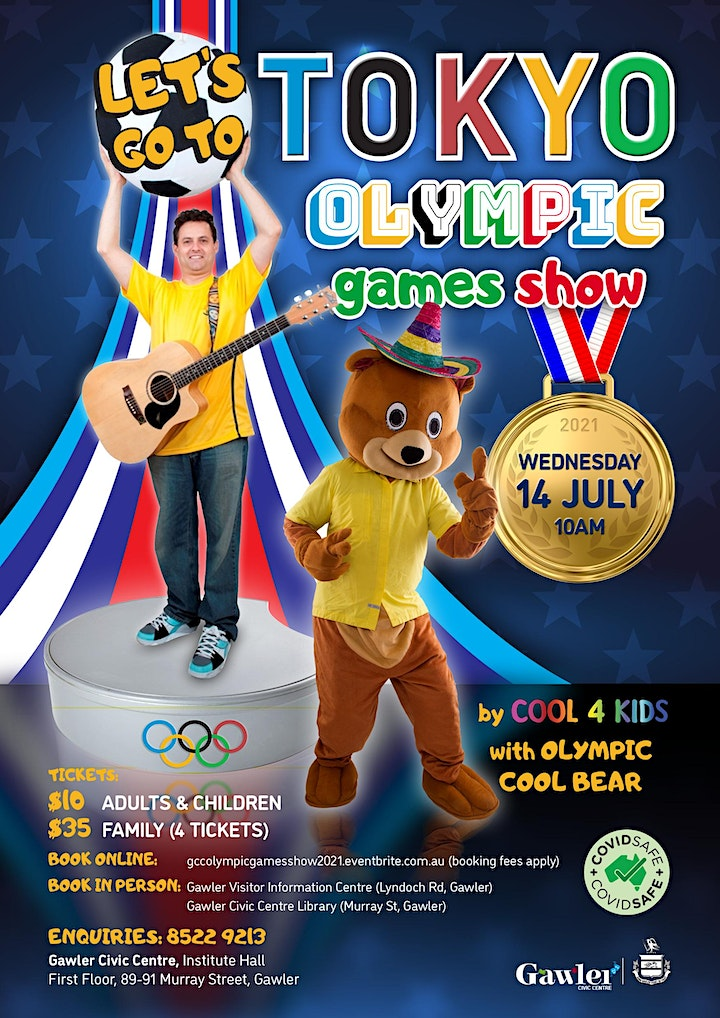 Let's Go To Tokyo - Olympic Games Show by Cool 4 Kids image