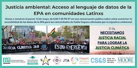 Justicia ambiental: accesibilidad de datos del EPA para comunidades Latinx entradas