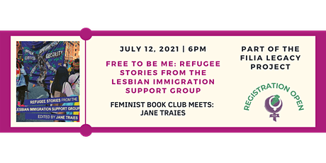 FiLiA Feminist Book Club Discusses Free to be Me: Refugee Stories from the tickets