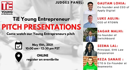 TiE  Young Entrepreneurs Final Pitch Competition tickets