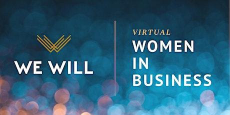 WE WILL Virtual   Women In Business Networking biglietti
