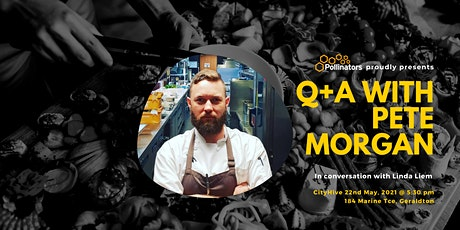 Q+A with Pete Morgan tickets