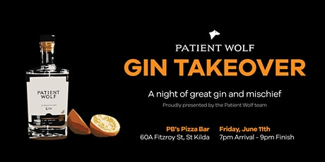Patient Wolf Gin Takeover - Gin Tasting Night in St Kilda tickets